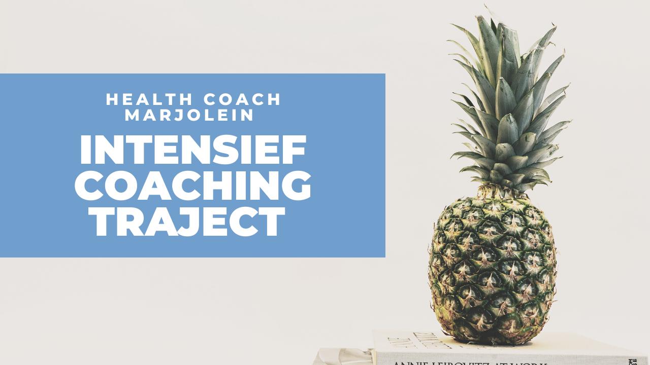 Intensief coaching traject